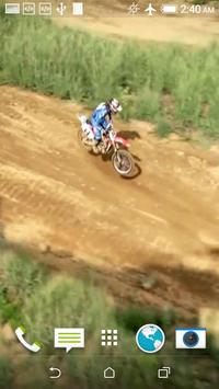 Motocross Live Wallpaper apk screenshot