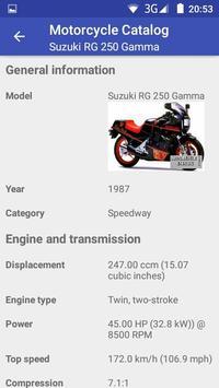 Motorcycle Catalog screenshot 4