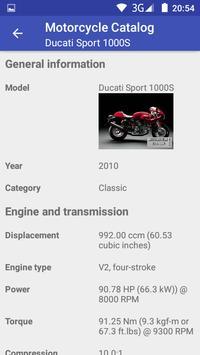 Motorcycle Catalog screenshot 6