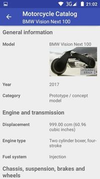 Motorcycle Catalog screenshot 7