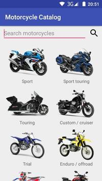 Motorcycle Catalog poster
