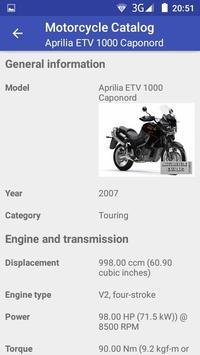 Motorcycle Catalog screenshot 2