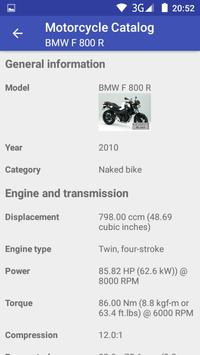 Motorcycle Catalog screenshot 3