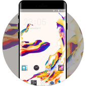 Theme for Moto G4 Plus: Color Abstract Skin icon
