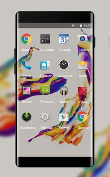 Theme for Moto G4 Plus: Color Abstract Skin screenshot 1