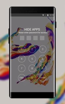 Theme for Moto G4 Plus: Color Abstract Skin screenshot 2