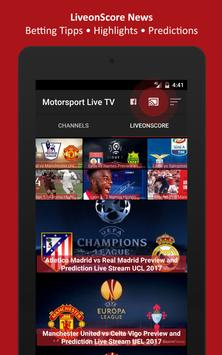 Motorsport Live TV apk screenshot