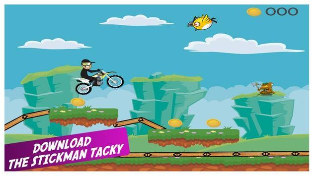 Stickman Tacky poster