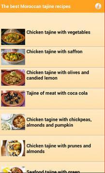 The Best Moroccan Tajine Recipes screenshot 1