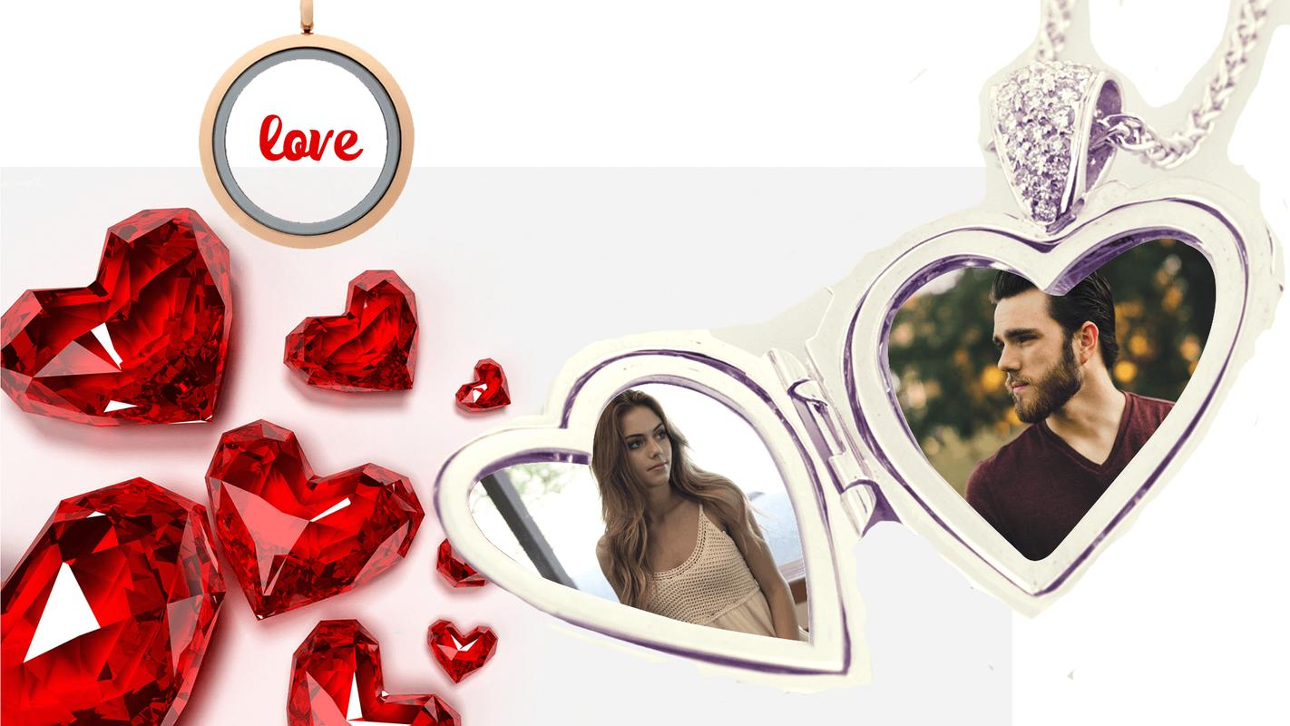 Love Locket GIF Photo Frame for Android - APK Download