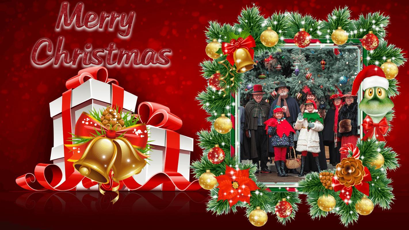 merry christmas gif photo frame christmas editor screenshot 3