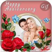 Anniversary Photo Frame Editor icon