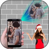Face Projector Photo Frame icon