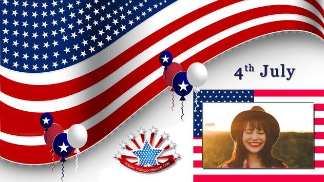 4th July GIF Photo Frame / 4th of July Photo Frame apk screenshot