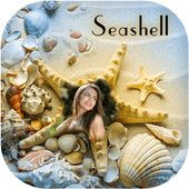 Seashell Photo Frame icon