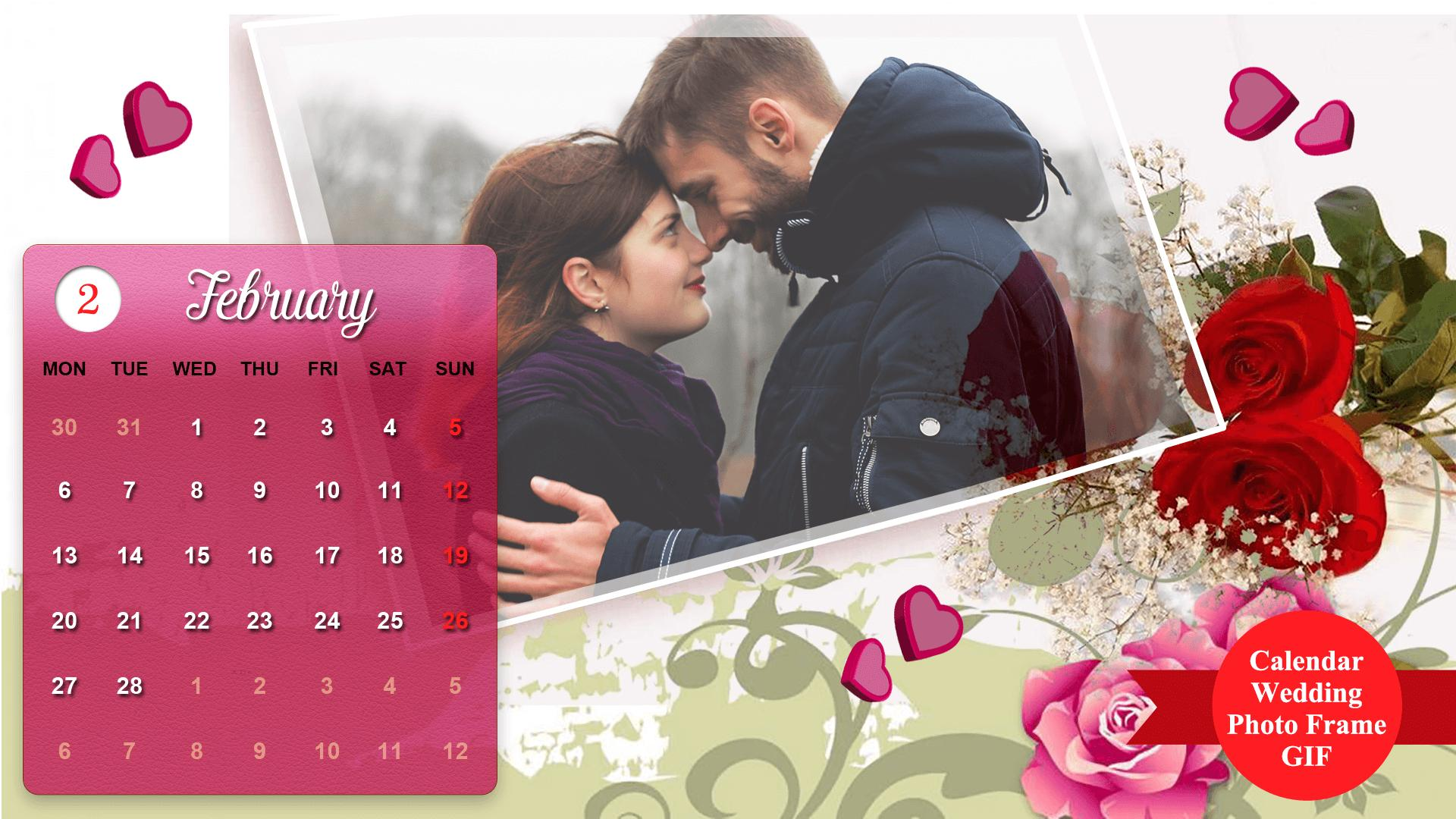 Wedding Gif Calender Frames For Android Apk Download