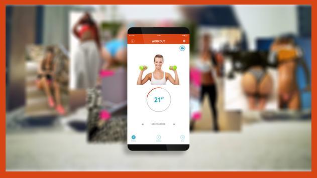 7 Min Home Workout Motivation poster