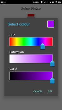color test poster