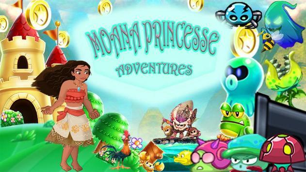 моана princess - Adventure World poster