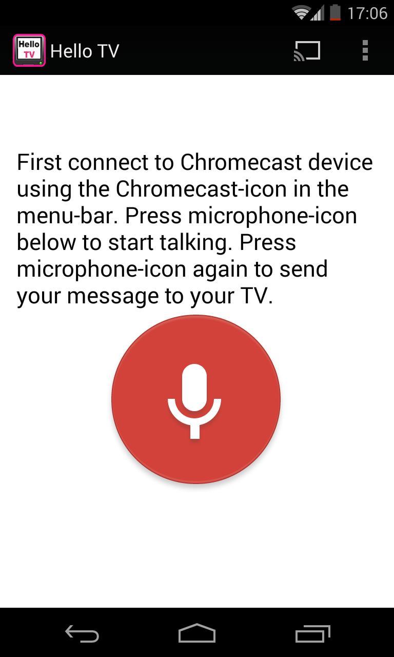 HelloTV (Chromecast app) for Android - APK Download