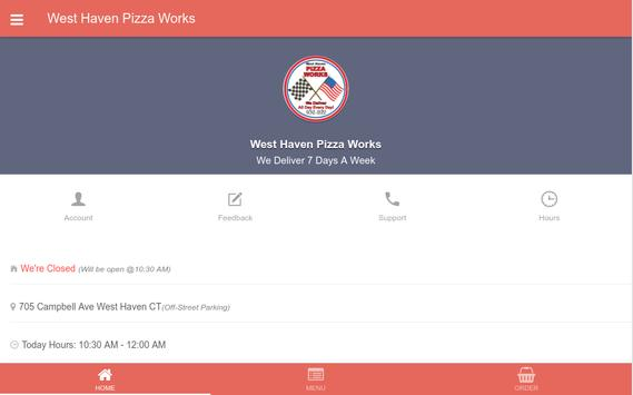West Haven Pizza Works apk screenshot