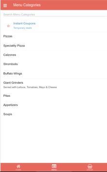 Santorini Pizza Westfield apk screenshot
