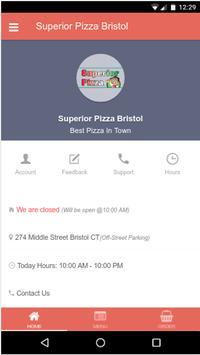 Superior Pizza of Bristol poster