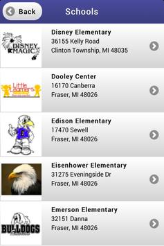 Fraser Schools apk screenshot