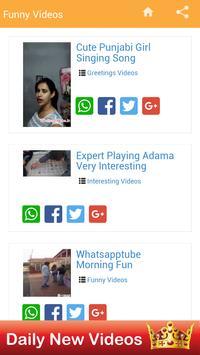 Funny Videos for whatsapp screenshot 1