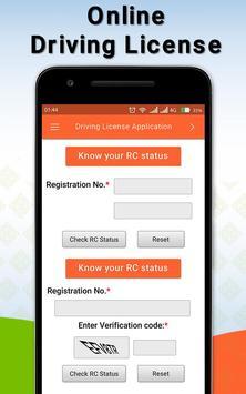 Driving Licence Online Apply screenshot 2