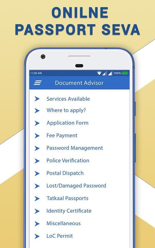 Passport Seva Online For