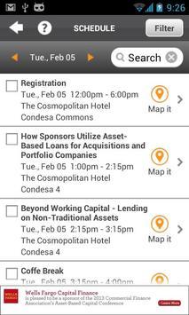CFA 2013 Multi Event App screenshot 2