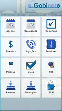 App e-Gabinete poster