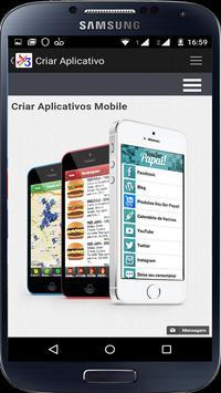 Criar Aplicativos apk screenshot