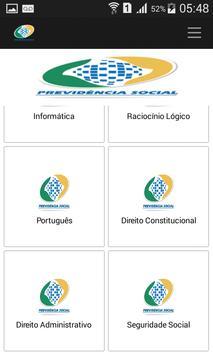 Apostila Concurso do INSS free screenshot 3