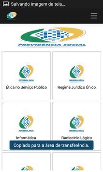 Apostila Concurso do INSS free screenshot 2