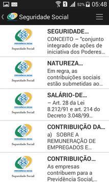Apostila Concurso do INSS free screenshot 4