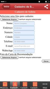 Ministério de Música AMT screenshot 2