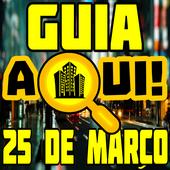 Aqui Guia 25 de Março icon