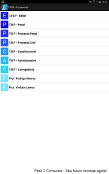Peso 2 Concursos screenshot 2