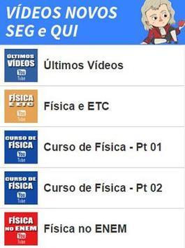 Canal da Física apk screenshot