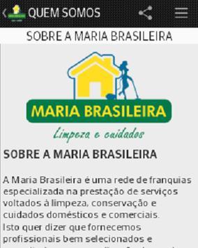 Maria Brasileira LaranjeirasES screenshot 3