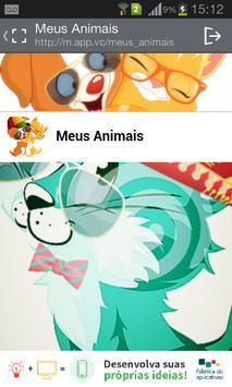 Meus Animais poster