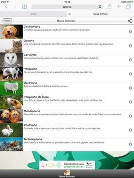 Meus Animais screenshot 6