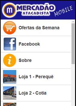 Mercadao Atacadista apk screenshot