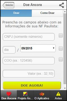 Doe Âncoa apk screenshot