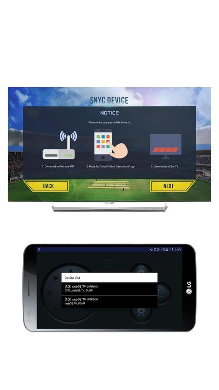Lg smart cricket controller apk baixar gr tis esportes for Smart cricket