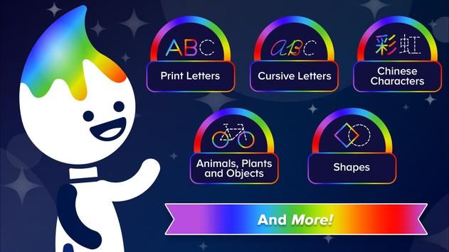 ABCmouse Magic Rainbow Traceables® screenshot 2