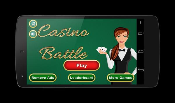 Casino Battle—Hi Lo Card Game apk screenshot