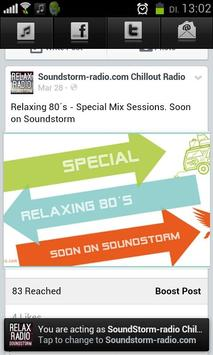 Soundstorm - Relax Radio screenshot 2